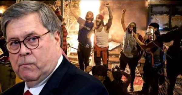 Barr Blasts ANTIFA, Declares War on Rioters