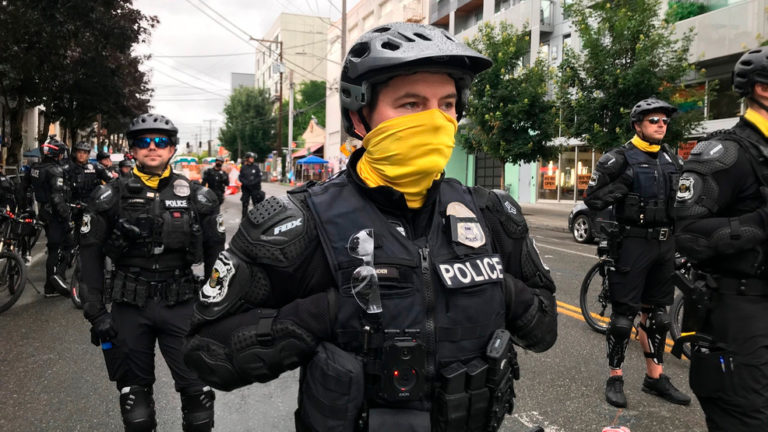 Seattle police chief to residents and business owners: You're on your own against violent protesters