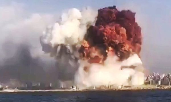 "Did The ""Mushroom Cloud"" Explosion In Beirut Just Push The Middle East Closer To A Major War?"