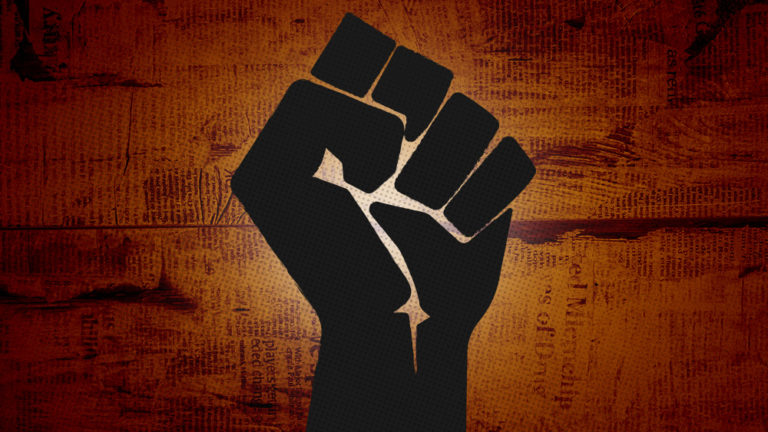 "The New Black America: Black lives THUGS demand everyone ""raise black power fist,"" or else"