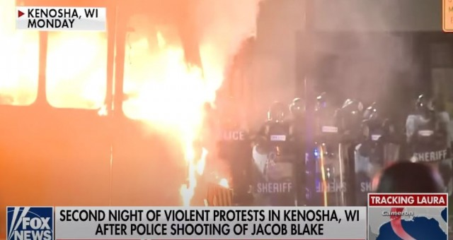 Video: Chaos Ensues And Rioters Attack National Guard At Violent Protest In Kenosha Wisconsin