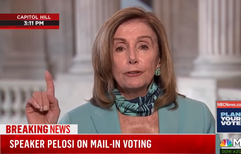 """Democrats essentially CONCEDE the election: Nancy Pelosi demands """"no debates"""" as Democrats face the truth that Joe Biden is a walking Alzheimer's patient who belongs in a nursing home"""