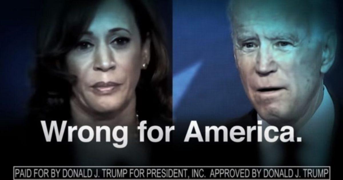 Video: President Trump's War Room Releases Brutal Message For Biden And Harris - DC Clothesline
