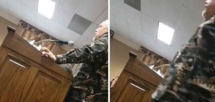 Father Takes Over Council Meeting – Calls Out Child Predator Cop For Grooming His Daughter (Video)