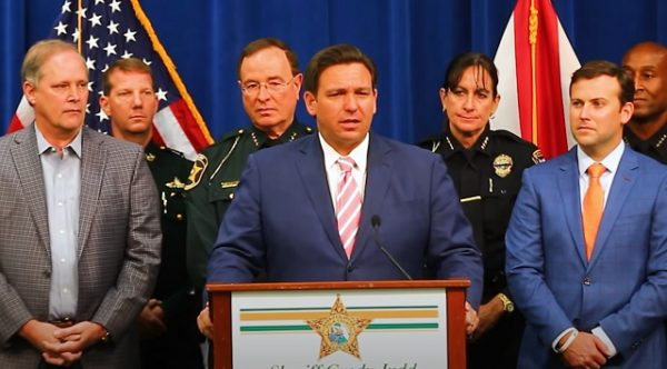 Florida Gov Ron DeSantis Reveals New Law to Punish Rioters & Their Funders; Allow Riot Victims to Sue Govt Officials