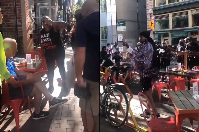 BLM Agitators Who Stole Elderly Couple's Drink And Screamed 'F*** White People' Charged in Pittsburgh