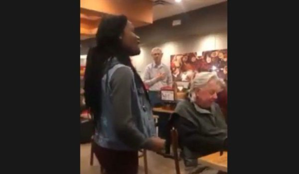Woman Belts Out National Anthem In Cafe – Watch The Reaction