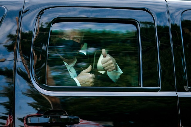 Trump Leaving Hospital: 'Don't Be Afraid Of Covid. Don't Let It Dominate Your Life'