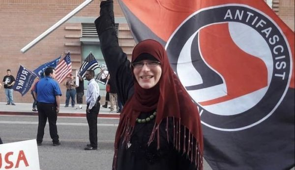 Arizona: Hijab-Wearing Muslim Trans Antifa Militant Arrested At Phoenix Riot – Claims To Be Victim Of 'Islamophobia'