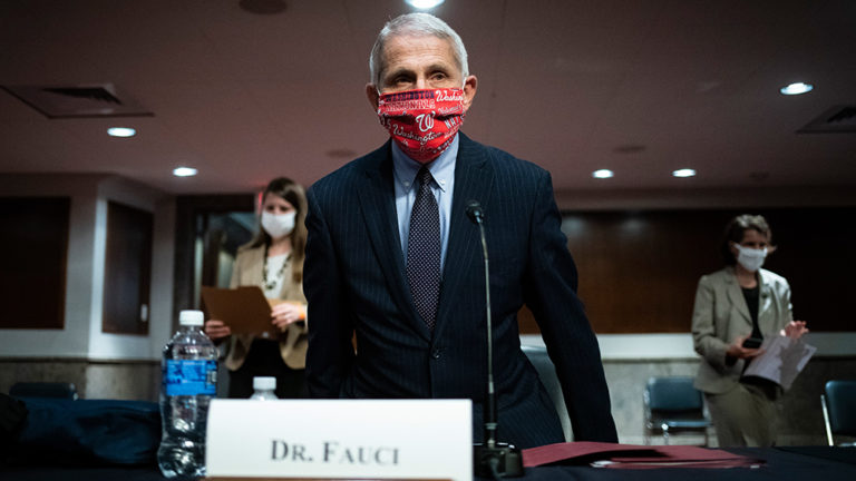 """FAUCI WANTS EVERYONE TO """"SACRIFICE"""" BY REFUSING TO CELEBRATE THANKSGIVING"""