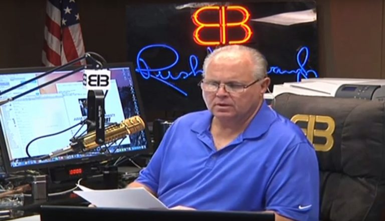 Rush Limbaugh says conventional cancer treatments FAILED, stage 4 cancer went terminal