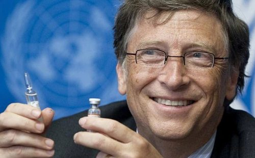 "BILL GATES: THE U.S. SHOULD ""BRAINSTORM"" WAYS TO REDUCE ""VACCINE HESITANCY"""