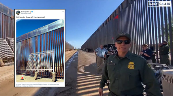 Border Patrol Praises Trump's New Dual Border Walls Built to Replace Fence On Southern Border