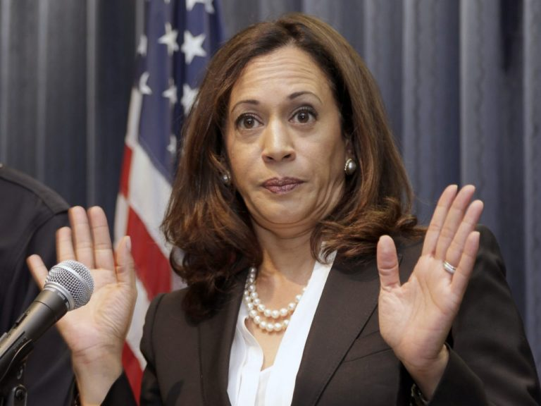 Democratic VP candidate Kamala Harris kept hundreds of men in prison for cheap labor – pictures make up her mosaic