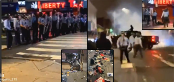 'Let's F**k Them Up!' Black Lives Matter Riot, Loot And Run Down Police With A Truck In Philly