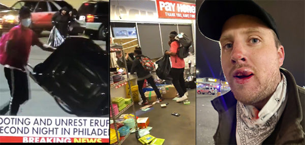 Philly Riots, Day 2: BLM Mobs Loot Big Screen TVs, Attack News Reporter And 'Target White People'
