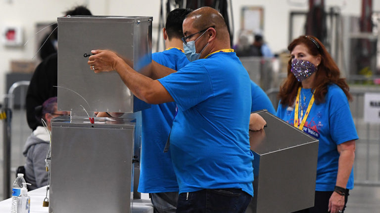 "Georgia ""audit"" fake, ballot recount rigged"