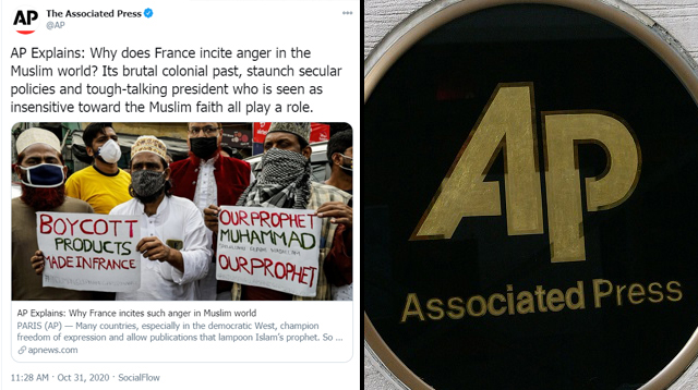 AP Justifies Beheadings: French 'Incite Anger' Due to Their 'Brutal Colonial Past,' 'Insensitivity' Towards Muslims