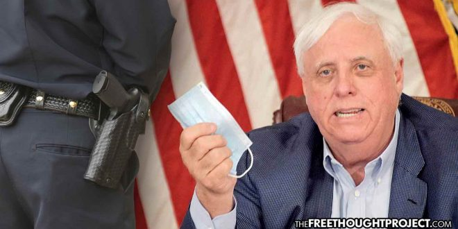 Governor Forced to Back Down as Citizens Stand Up to Threats of Arrest Over Mask Order