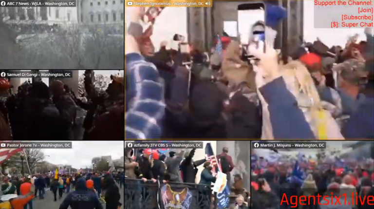 "Trump supporters tried to STOP Antifa infiltrators from breaking Capitol windows during false flag ""siege"""