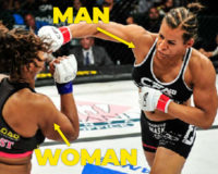 "Cult of LGBTQ says trans ""female"" MMA fighter who destroyed female competitor is ""bravest athlete in history"""