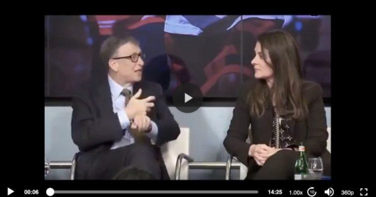 The Video That Bill Gates Did Not Want You To See Has Resurfaced! - DC Clothesline