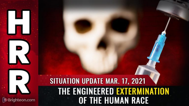 Situation Updat: How to survive the engineered EXTERMINATION of the human race