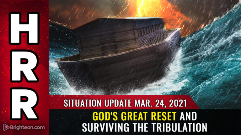 Situation Update – God's Great Reset and surviving the tribulation