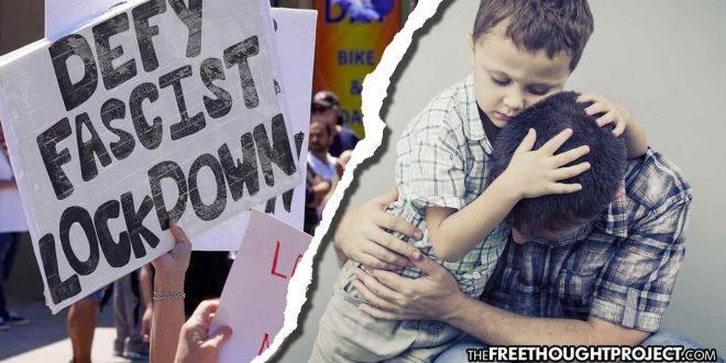 Father Denied Custody of Children Over COVID-19 'Anti-Lockdown' Beliefs Matt Agorist