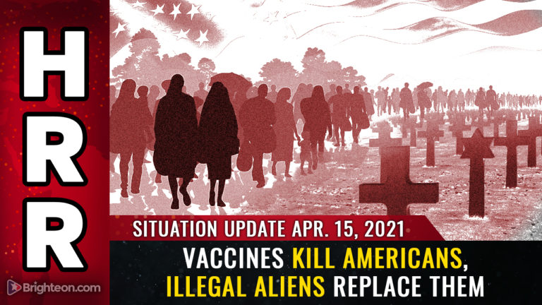 Vaccines KILL Americans while illegal aliens REPLACE the