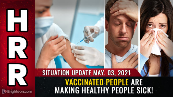 "EXTERMINATION machine unmasked: Why vaccinated people are making HEALTHY people sick, Pfizer document admits vaccinated people ""shed"" infectious particles, the spike protein is the bioweapon"