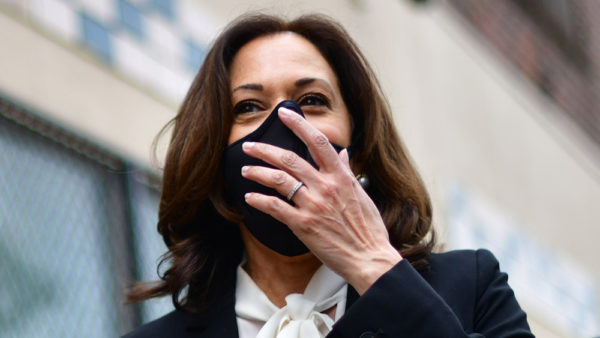 "Kamala Harris just announced travel ban on India and nobody is screaming ""racism!"""