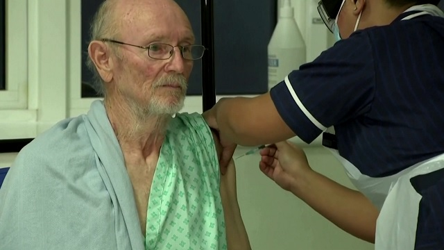 First Man to Get COVID Vaccine Dies of a Stroke