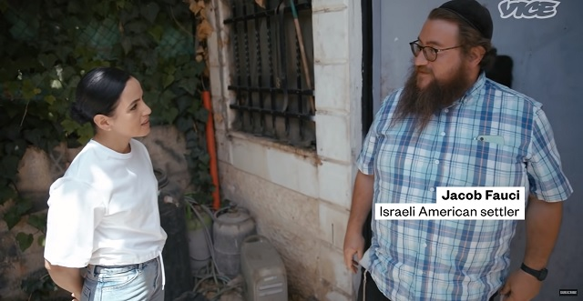"""VICE Interviews American-Israeli Settler Jacob Fauci Of """"If I Don't Steal It Someone Else Is Going To"""" Fame"""