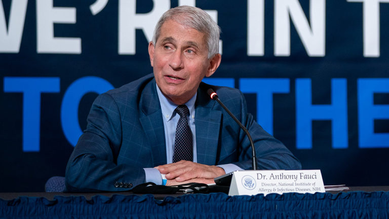 Leaked email shows scientist who manipulated coronaviruses thanking Fauci for lying about covid