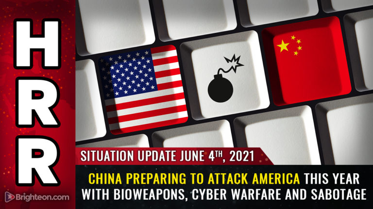 CCP planning major attack on USA this year: Bioweapons, cyber war, kamikazee drones and infrastructure sabotage
