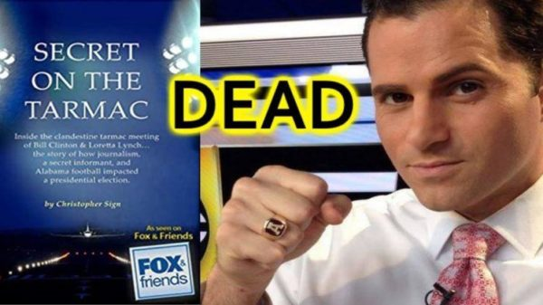 Reporter Who Broke Story Of Bill Clinton/ Loretta Lynch Tarmac Meeting Found Dead – Police Allege Apparent Suicide