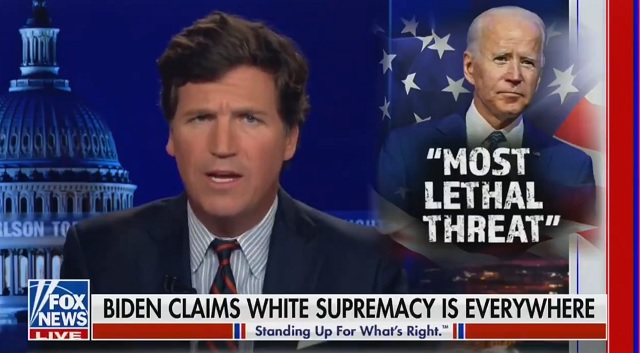 Tucker Carlson Slams Biden's 'Disgusting' Tulsa Speech As An Anti-White 'Racial Attack'