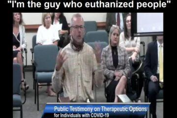 """SC Nurse Testifies About Unknowingly Killing """"COVID"""" Patients: """"I'm The Guy That Euthanized People"""" (Video)"""