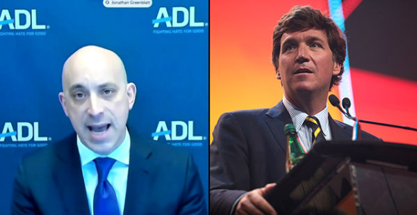 """""""F–k Them"""": Tucker Reacts to ADL Calling For Him to Be Fired"""