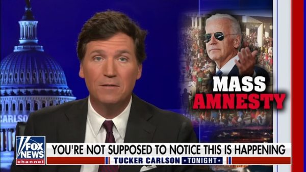 Tucker Highlights Clip Of Biden Saying Whites Becoming A Minority Is 'A Source Of Our Strength'