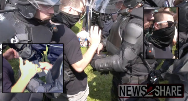 Armed Man Detained At 'Justice For J6' Rally 'Exposed As Undercover Law Enforcement'