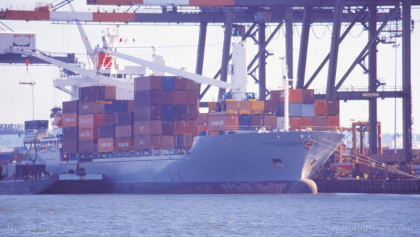 Container ship gridlock in California causing fires, oil spills