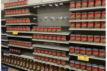 As The Shelves Get Emptier, How Long Can They Keep The Charade Going?