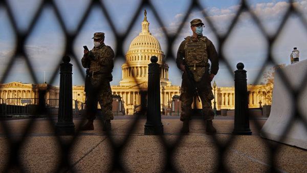 Biden regime weighs deploying National Guard to militarize broken supply chain
