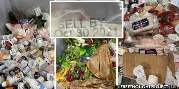 Amazon Caught Throwing Away Tons of Unexpired Food as US Faces Unprecedented Food Insecurity